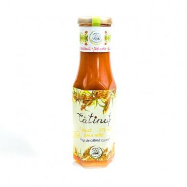 Catinut - Sirop catina cu miere natural.