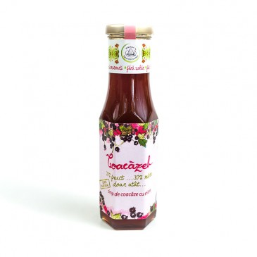 Coacazel - Sirop coacaze cu miere - natural