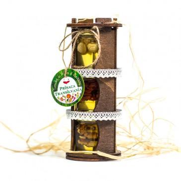 Turnulet traditioonal lemn - 3 bunatati - miere