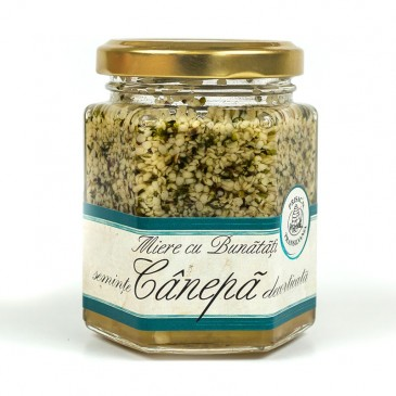 Miere seminte canepa - omega 3 - 6